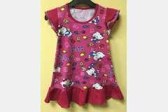 Платье цветное Крылышки