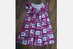 Платье цветное Лида
