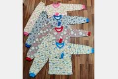 Пижама кулир цветной