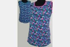 Блуза с карманами