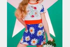 Платье для девочек с накатом