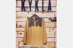 Блузка с кружевом - Турция