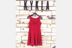 Платье красное - Турция