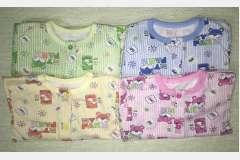 Пижама начес цветной