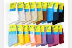 Носки женские разноцветные классика