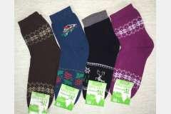 Носки махровые (плюшевый стрейч) Зима
